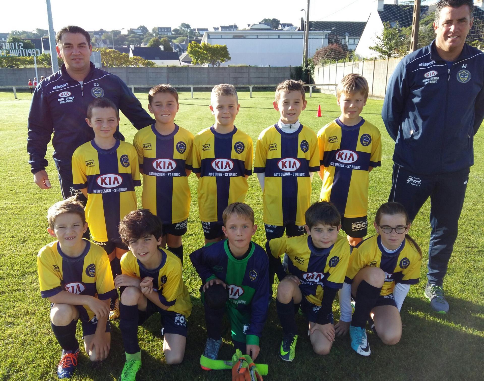 U10-U11 équipe 2
